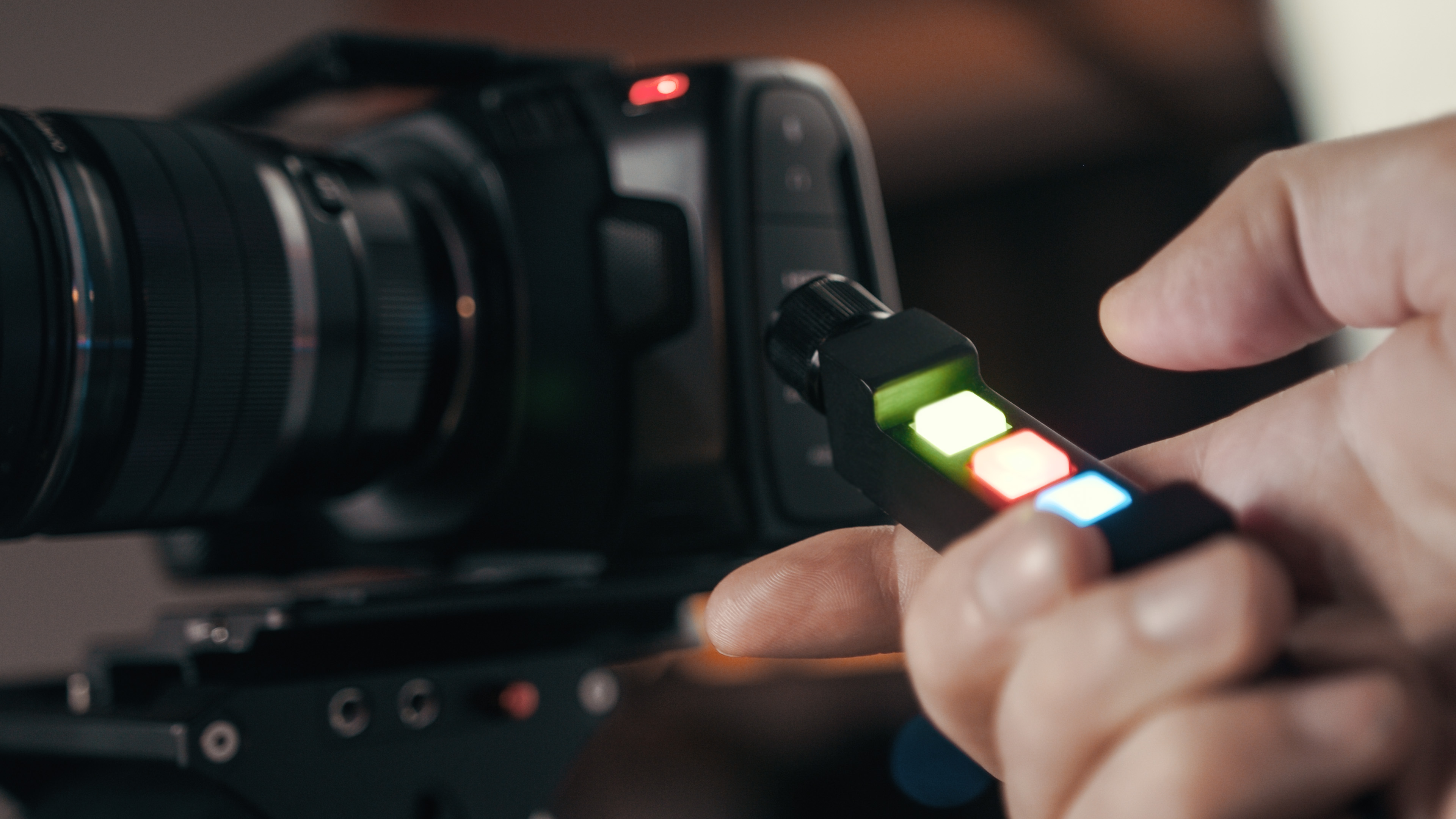Remote Controller For The Blackmagic Pocket Cinema Camera 4k 6k Bmpcc Zebra Zone